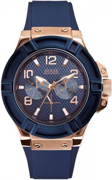 Zegarek męski Guess pasek W0247G3 - duże 1