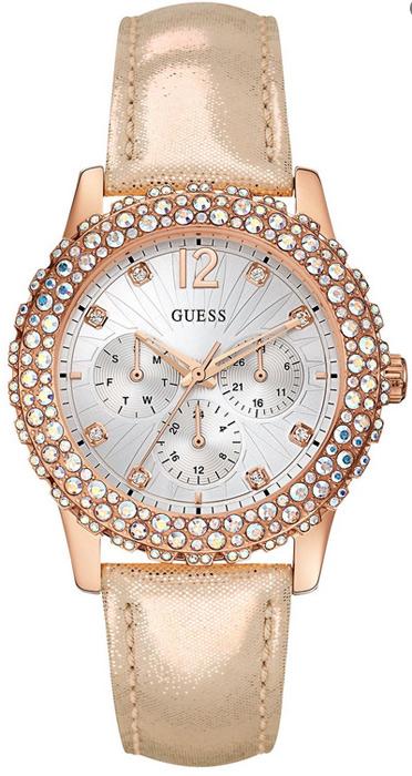 Zegarek damski Guess pasek W0336L4 - duże 1