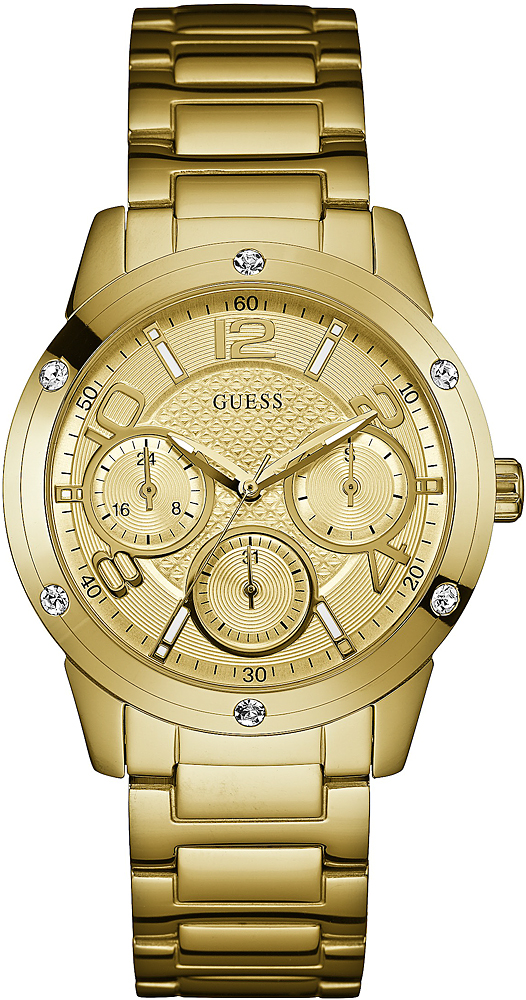 Zegarek damski Guess bransoleta W0778L2 - duże 3