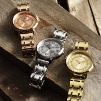 Zegarek damski Guess bransoleta W0933L2 - duże 2