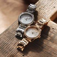 Zegarek damski Guess bransoleta W0987L3 - duże 4