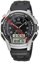 Zegarek męski Casio analogowo - cyfrowe WS-300-1BVSES - duże 1