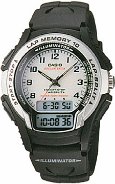 Zegarek Casio WS-300-7B - duże 1