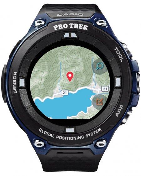 Zegarek Casio ProTrek WSD-F20A-BUAAE - duże 1