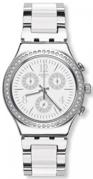 Swatch YCS119G Irony MADE IN WHITE