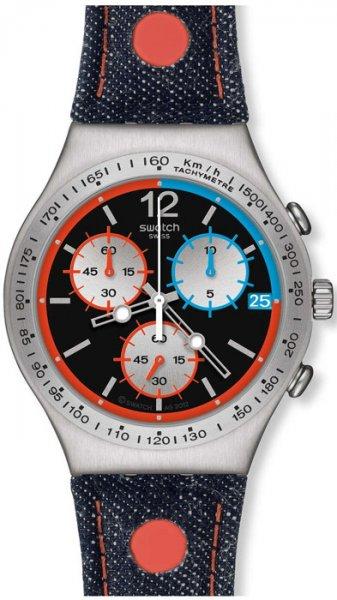 Zegarek męski Swatch irony chrono YCS571 - duże 3