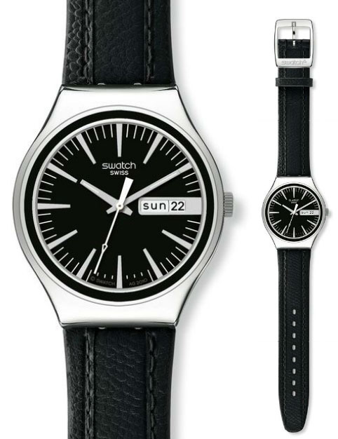 Swatch YGS744 Irony Big Charcoal Suit