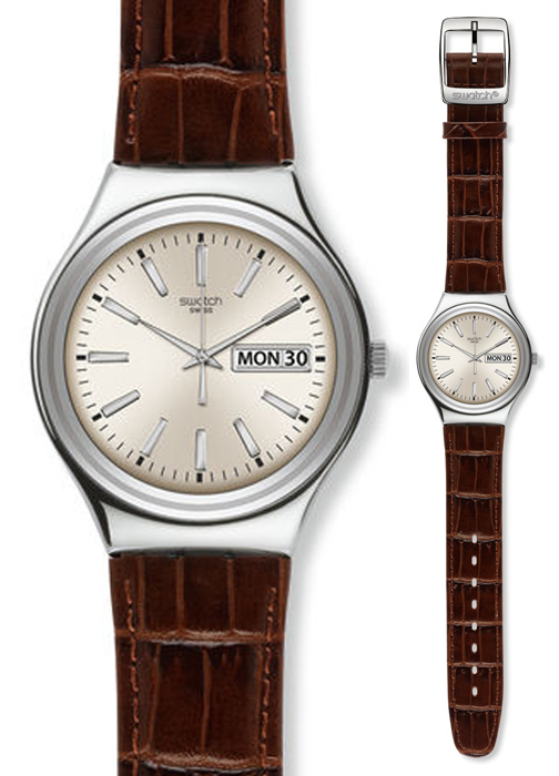 YGS769 - zegarek męski - duże 3