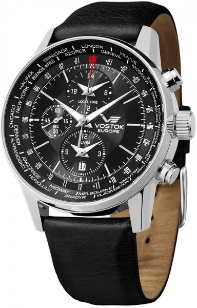 Zegarek Vostok Europe YM26-560A254 - duże 1