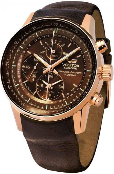 Zegarek Vostok Europe YM86-565B288 - duże 1