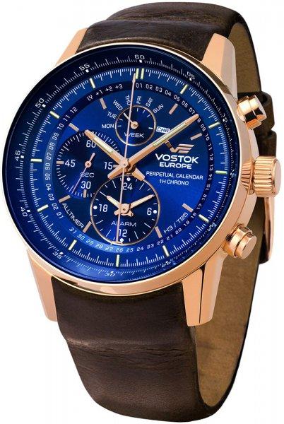 Zegarek Vostok Europe YM86-565B289 - duże 1