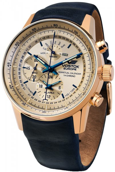 Zegarek Vostok Europe YM86-565B290 - duże 1