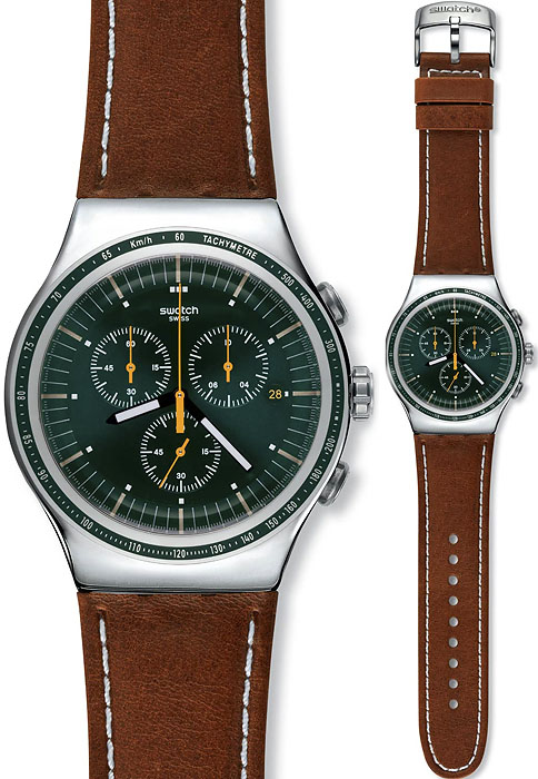 YOS450 - zegarek męski - duże 3