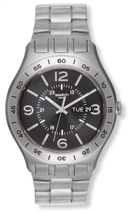 Swatch YTS704G Skin Classic In a Dark Grey Mode