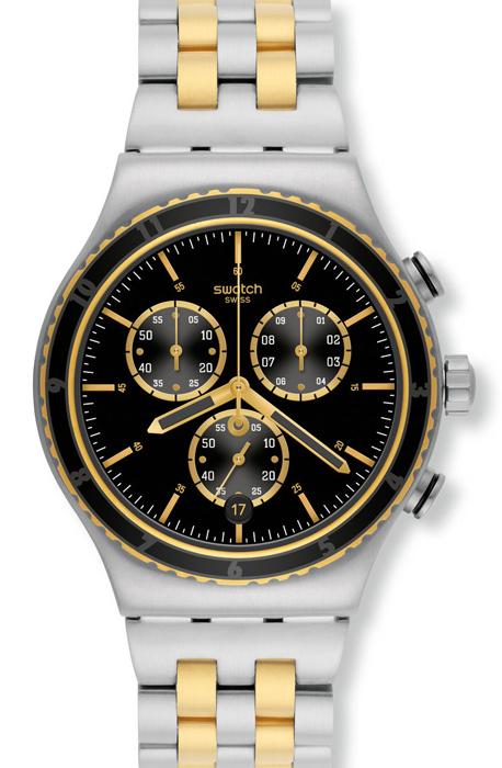 Zegarek męski Swatch irony chrono YVS403G - duże 1