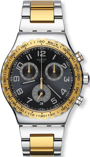 Swatch YVS427G Irony Chrono GOLDEN YOUTH