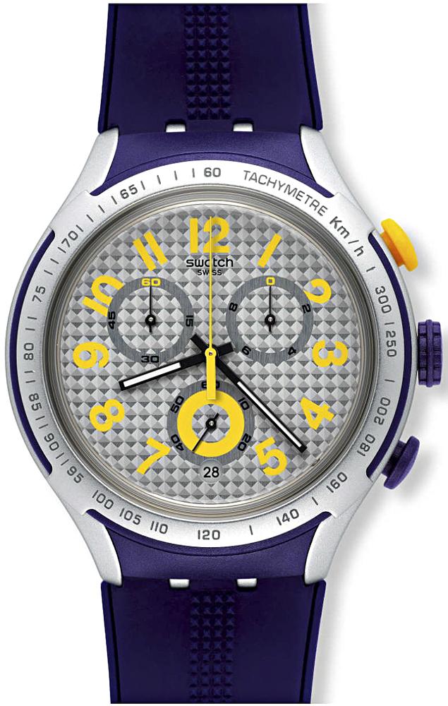 Swatch YYS4014 Irony XLITE YELLOW PUSHER