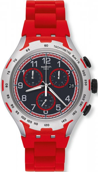 Swatch YYS4018AG Irony XLITE RED ATTACK