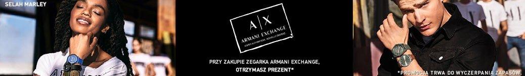 Armani Exchange plecak w prezencie