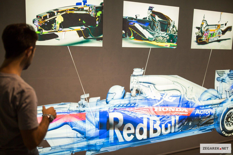 Projekty bolidu Formuły 1.