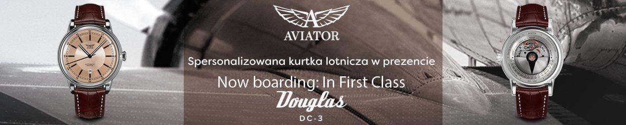 Aviator Douglas DC-3 z kurtką pilotką gratis