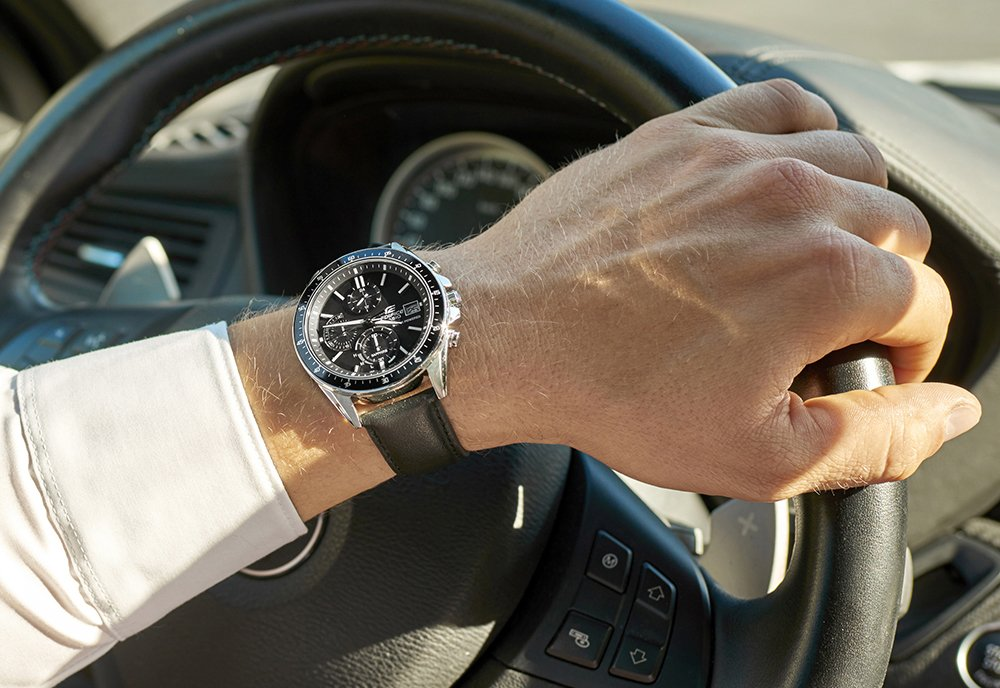 Zegarek Edifice od Casio.