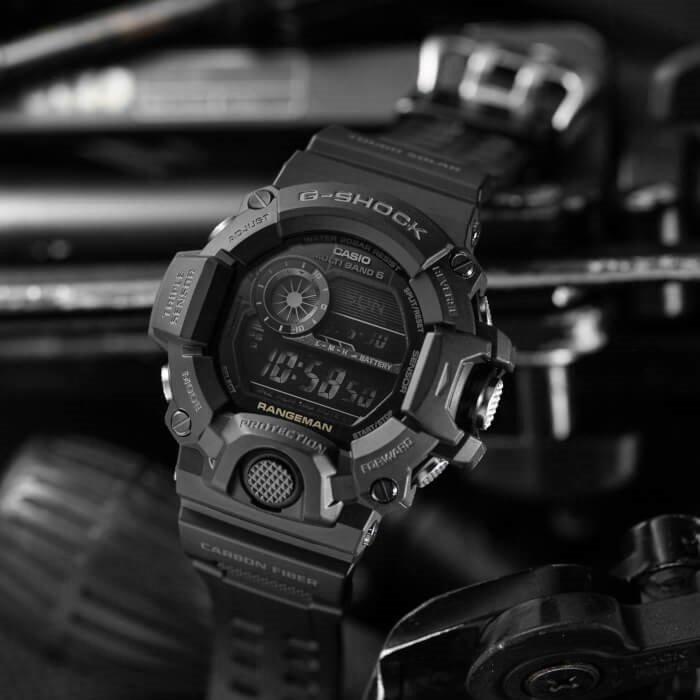 G-SHOCK GW-9400-1BER RANGEMAN Black Out