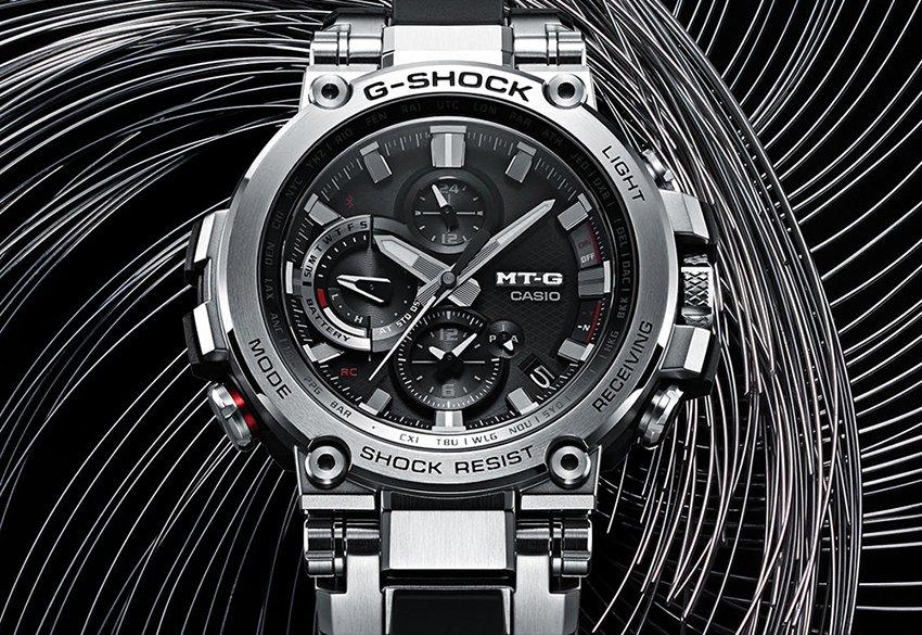 Zegarek G-Shock MT-G od Casio.