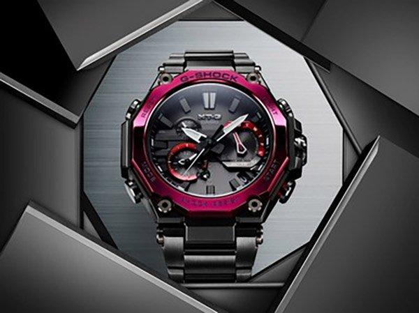 Zegarek G-shock w czerwono-czarnej odsłonie
