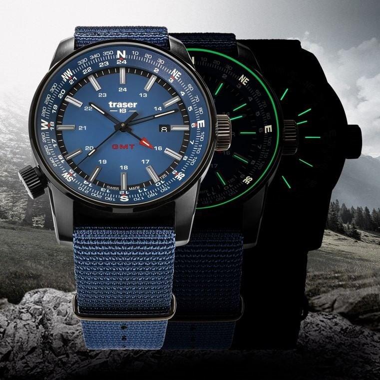 Kolekcja P68 Pathfinder GMT marki Traser