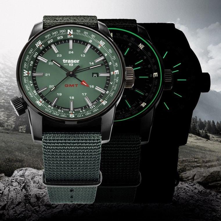 Kolekcja zegarków Traser P68 Pathfinder GMT