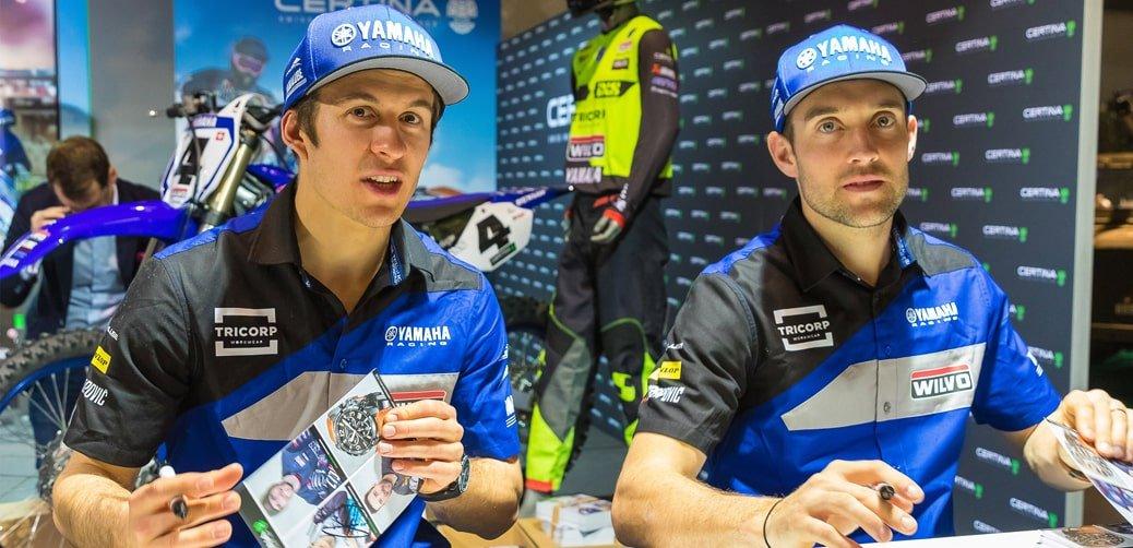 Jeremy Seewer oraz Shaun Simpson czyli zespół Wilvo Yamaha Official MXGP