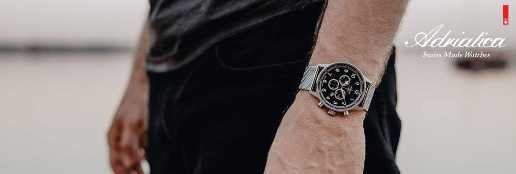 Męskie zegarki Adriatica