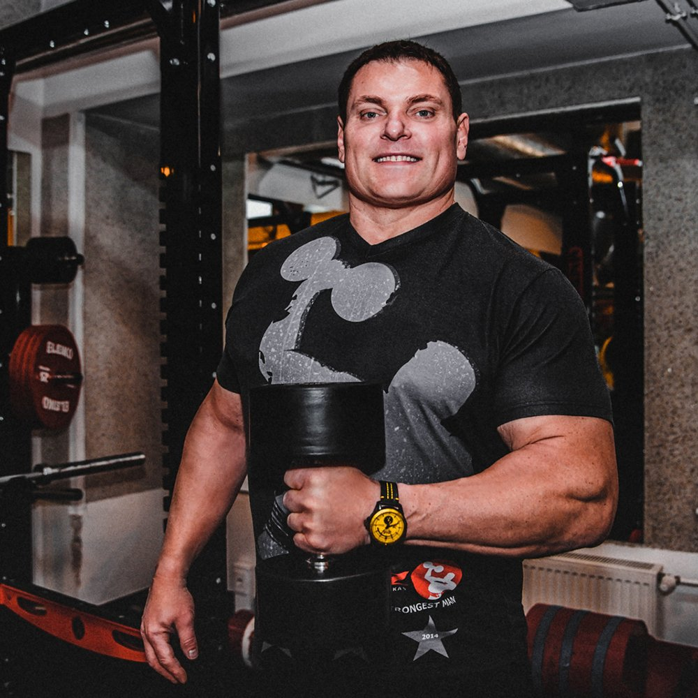 Litewski strongman ambasadorem Vostok Europe