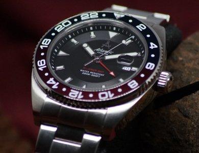 Zegarki Atlantic Mariner - nowa odsłona nurków - zdjęcie