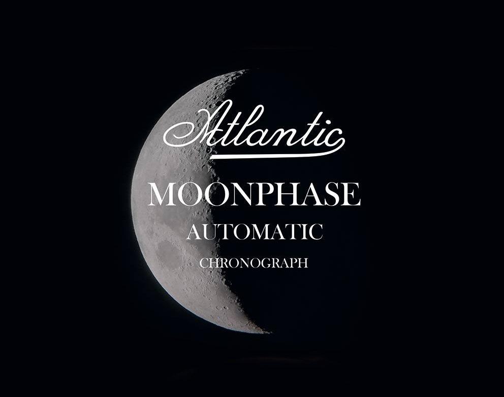 limitowana reedycja Atlantic Moonphase Chronograph Universal