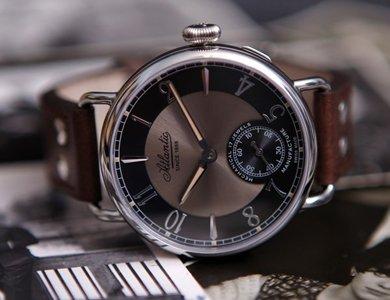 130 urodziny marki Atlantic. Jubileuszowe modele zegarków. - zdjęcie