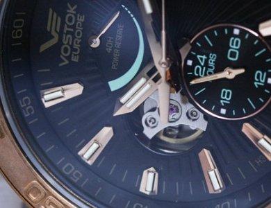 Limitowany zegarek Vostok Europe Energia Rocket Bronze Automatic - zdjęcie