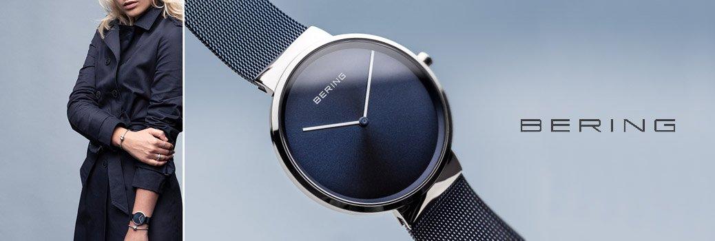 Damskie zegarki Bering inspirowane Arktyką.