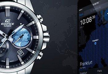 Bluetooth i GPS w zegarkach Casio.