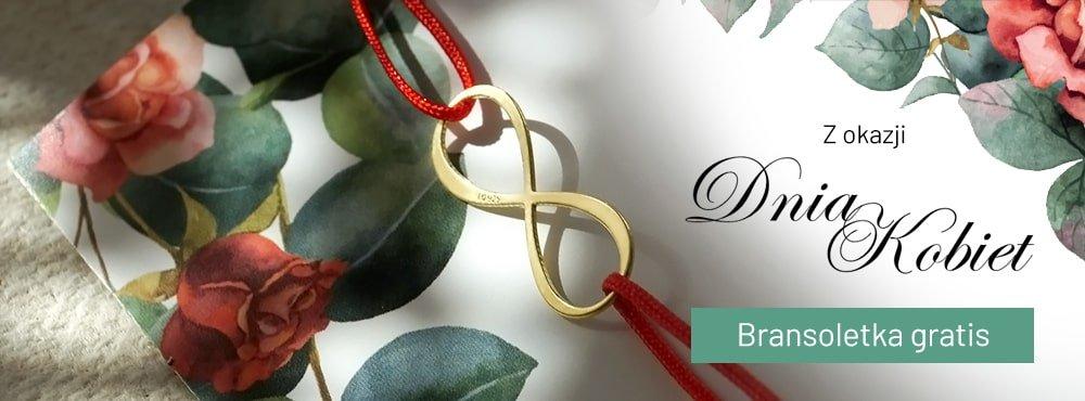 Z okazji dnia kobiet bransoletka GRATIS