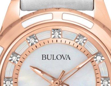 Zegarki z diamentami – Bulova Diamond - zdjęcie