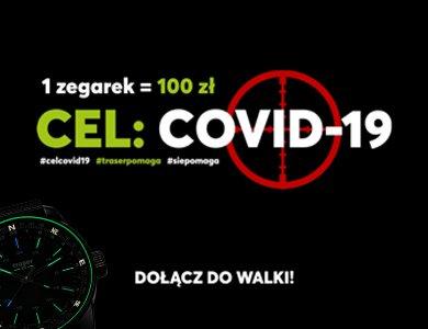 ZEGAREK.NET x traser® w walce z COVID-19