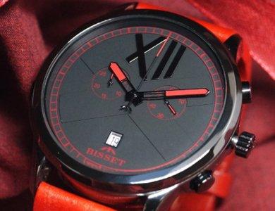 Ceramiczne zegarki męskie od marki Bisset - zdjęcie