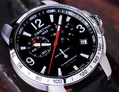 Certina DS Podium Lap Timer Chronometer i inne certyfikowane zegarki - zdjęcie