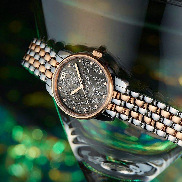 Certyfikowany damski chronometr Certina C033.051.22.088.00 DS-8 z urzekającą estetyką i piękną tarczą.
