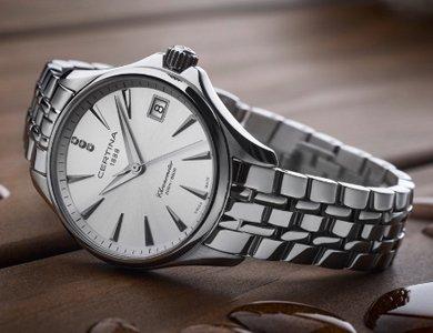Zegarki Certina z diamentami - zdjęcie