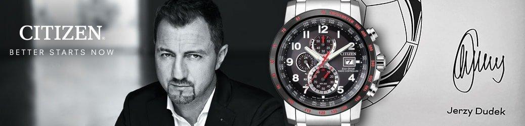 Limitowana edycja zegarka Citizen Jerzy Dudek. Zegarek dostępny tylko w Polsce. Jedyne 500 sztuk modelu!