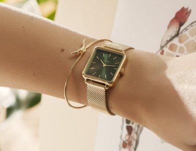 Damski zegarek na wiosnę według Cluse - zdjęcie