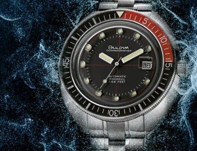 Oceanographer Automatic Snorkel czyli diabelski nurek od Bulovy - zdjęcie